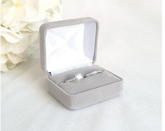 Band Box für Eheringe Hochzeit Exklusive Ringkissen mit Name und Datum