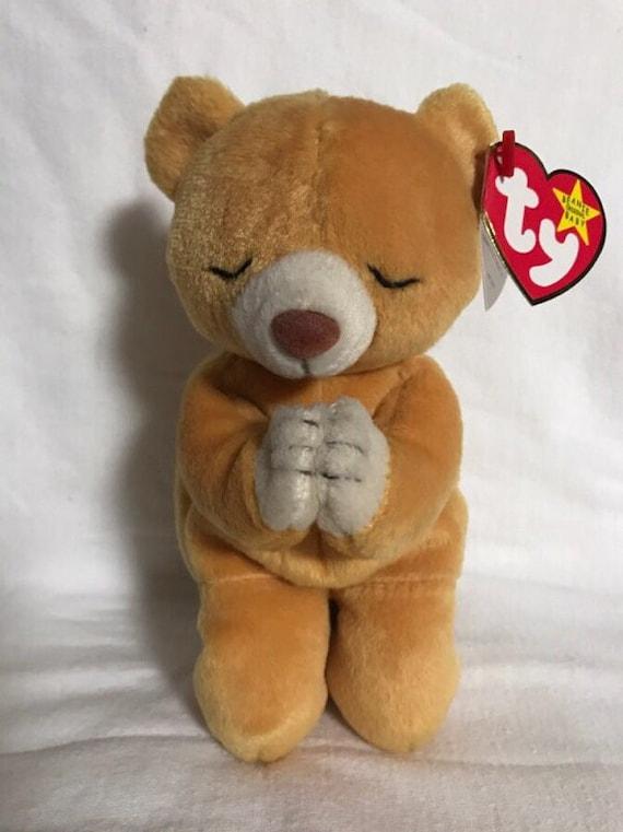 19937b48f24 Rare HOPE Beanie Baby Bear Original