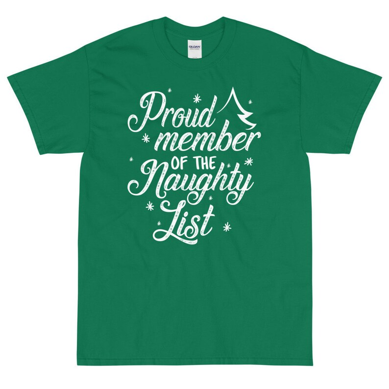 Proud Member of the Naughty List  Christmas Party Short image 0