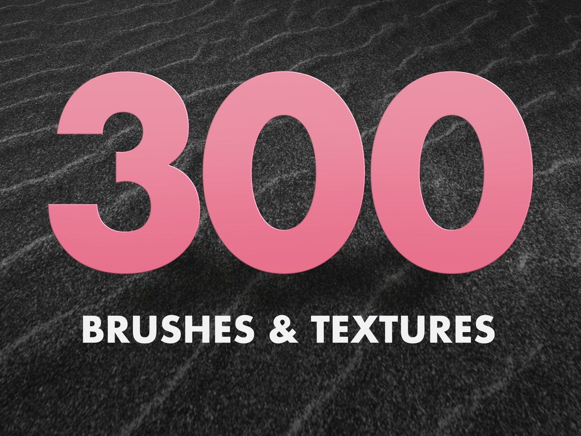 300 brushes and textures for procreate brushes for procreate image 0