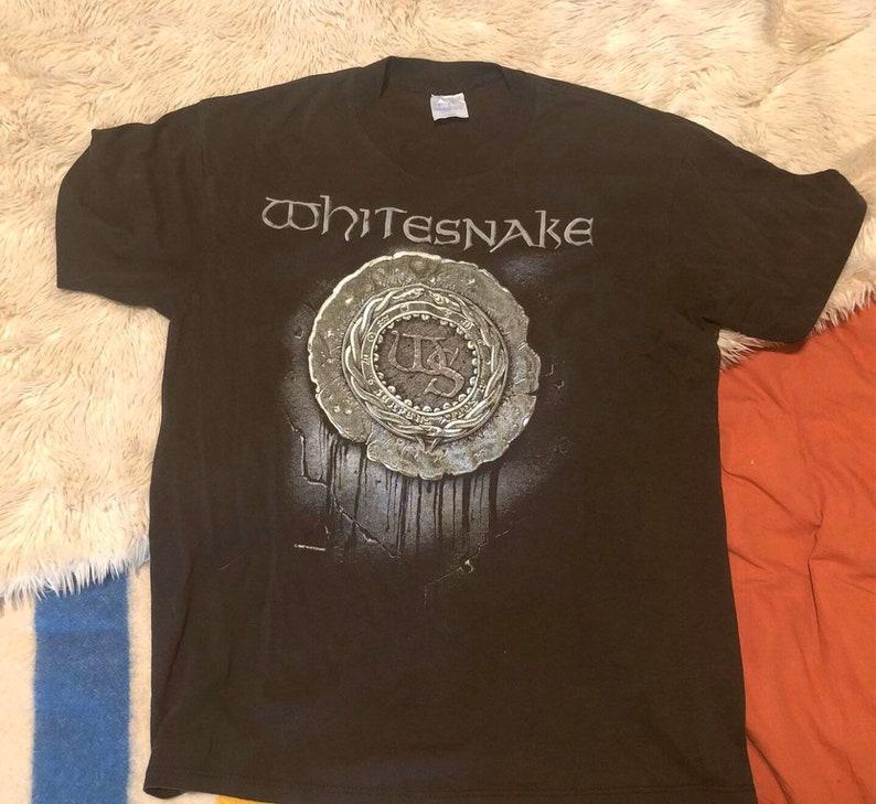 Vintage Whitesnake 1987 tour shirt XL made in the USA
