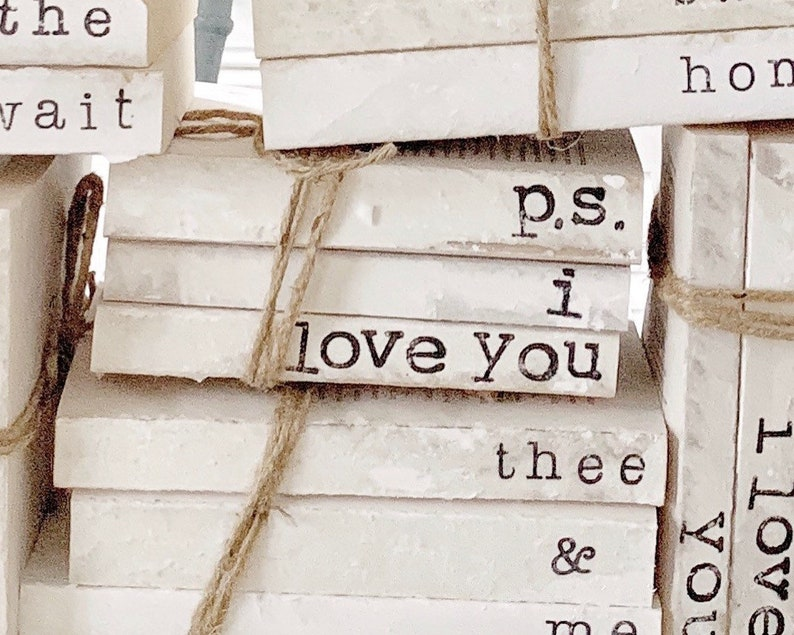 d31bfb8b18fae p.s i love you - stamped custom book set