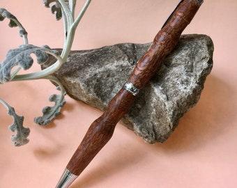 Leopardwood Lake - Hand-Turned Leopardwood Pen