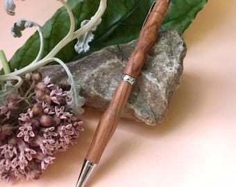 Tulipwood Trill - Hand-Turned Tulipwood Pen