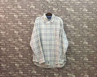 5df8e825 Tommy Hilfiger Flannel/ Oxfords/ Button Down/ Tommy Hilfiger Collared Shirt  XL