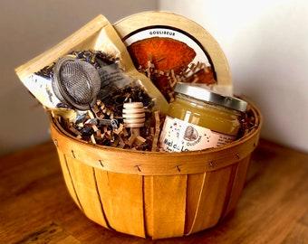 Tea Set,Tea and Biscuits,Tea Gift Set,Tea Gift Basket,Tea Gift Box for Women,Tea Gift Box,Tea Gift Basket Thank You,Tea and Cookies,Food