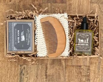 Beard Gift Set,Beard Oil,Beard Comb,Mens Gift,Beard Care Kit,Beard Care Gift Set,Gift for Men,Gifts for Boyfriend,Gift for Him,Men Hair Care
