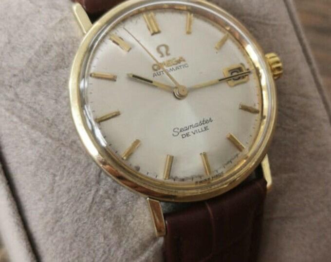 Omega Seamaster Deville Mens Vintage Watch 1965 - Serviced + Warranty