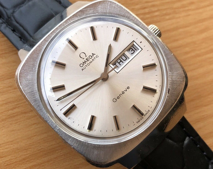Omega Geneve Gents Automatic Watch, Vintage, Serviced + Warranty 1022 cal