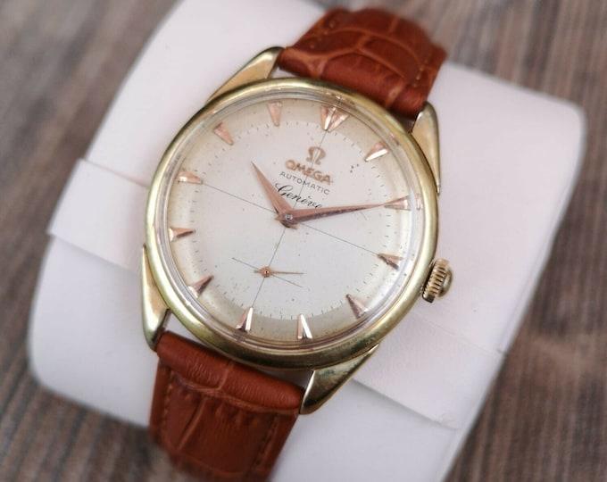 Omega Geneve Men's Vintage Watch Fully Serviced Warranty + Box