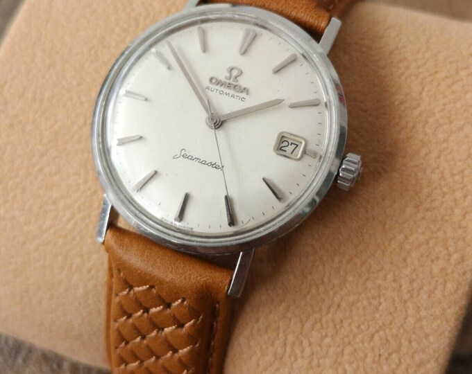 Omega Seamaster Vintage Stainless Steel Watch, Serviced + Warranty, 1962
