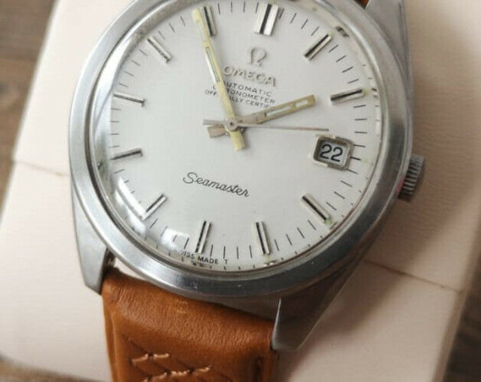 Omega Seamaster Watch - Jumbo Vintage Mens Fully Serviced + Warranty, 1967