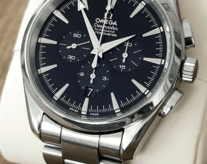 Omega Seamaster Aqua Terra Chronometer Stainless Steel 2512.50 Watch