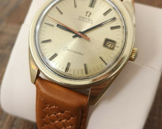Omega Seamaster 14k Automatic Vintage Watch, Fully Serviced + Warranty 1966