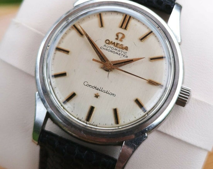 Omega Constellation Automatic Mens Vintage Watch + Warranty