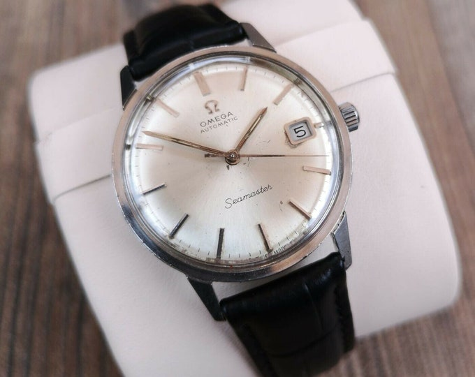 Omega Seamaster Mens Vintage Watch + Warranty