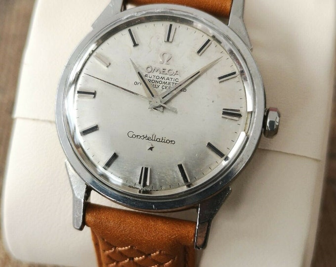 Omega Constellation Chronometer Vintage Watch Automatic 1963 Serviced + Warranty