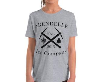 Arendelle Ice Co Shirt, Frozen shirt, Arendelle Ice Company, Disney shirt Youth Short Sleeve T-Shirt