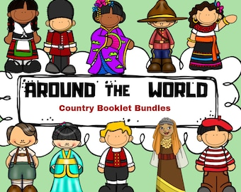 Around the World Country Booklet (A Country Study!)
