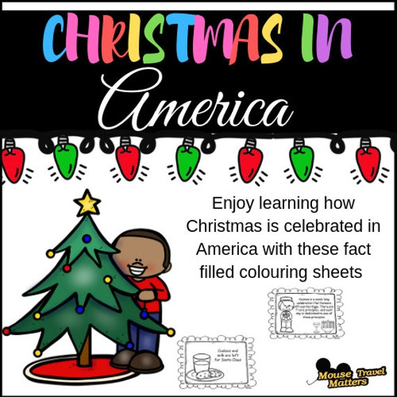 Christmas In America Book.Christmas In America Mini Book For Early Readers