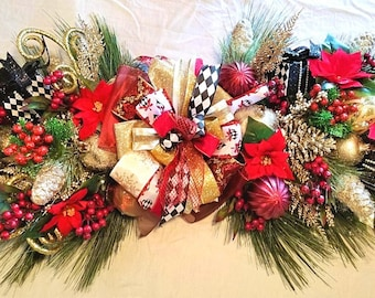 Terrific Christmas Centerpiece Etsy Home Interior And Landscaping Ologienasavecom
