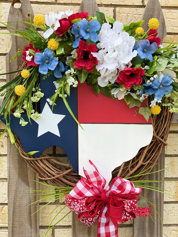 Texas, Texas Front Door Wreath, Texas Decor, Texas Wreath, Texas Grapevine Wreath, Front Door Wreath, Everyday Texas Wreath, Texas Sign,