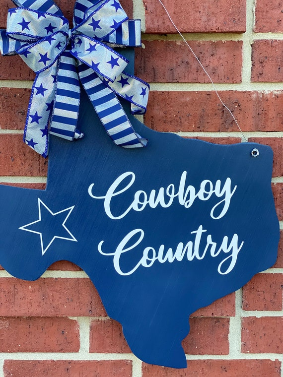 Texas Sign, Dallas Cowboys, Football, Texas Dallas Cowboy Sign, Cowboys Decor, Texas Decor, Football Decor, Football Signs, Sports Decor