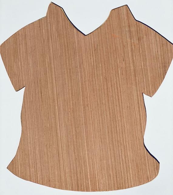 Shirt, Scrub, Blank Door Hanger, Wood, Scrub Hanger, Nurse, Medical Door Hanger, Wood Blank