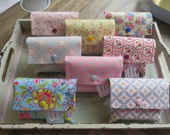 bag mut-mach bag gift encouragement bag bag smallseligkeites sewn pink blue flowers women hospital recovery Corona