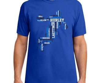 37c256c34529 Duke Basketball Top 50 Greatest Players of All Time Shirt