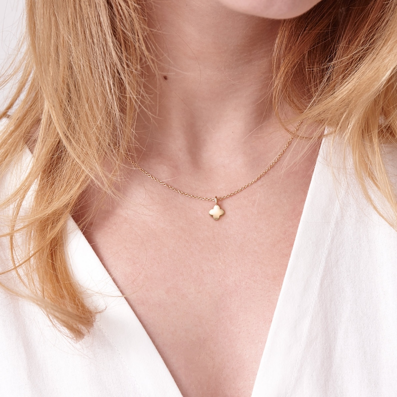 14K18K Gold Necklace Me Gift For Daughter Mental Health Anxiety Jewelry Hope Necklace Kaiu Collection Depression Necklace