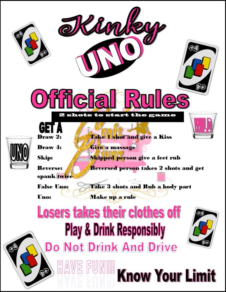 Kinky Rules Etsy