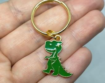 Dinosaur keyring, keychain, uk seller, animal keyring, dinosaur, stocking filler, childrens, dinosaur gift, back to school, teacher gift