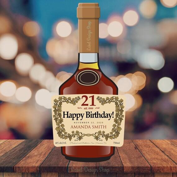 liquor PRINTED custom cognac label groomsmen proposal groomsman gift vsop cognac label father/'s day gift custom cognac liquor label
