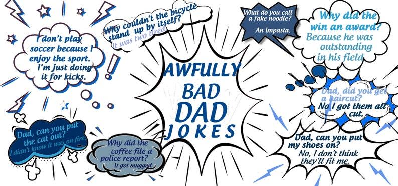 Daddy Jokes DadHappy Gift Fathers Dad For Birthday Day Awfully Bad GiftGag Coffee MugFunny 8wOP0NXnk