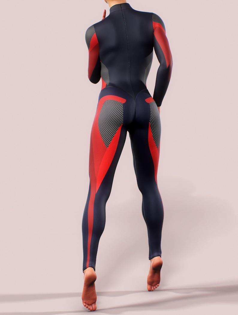 bb1493f5271d Sports Bodysuit One Piece Sculpting Playsuit Shaping Women   Etsy
