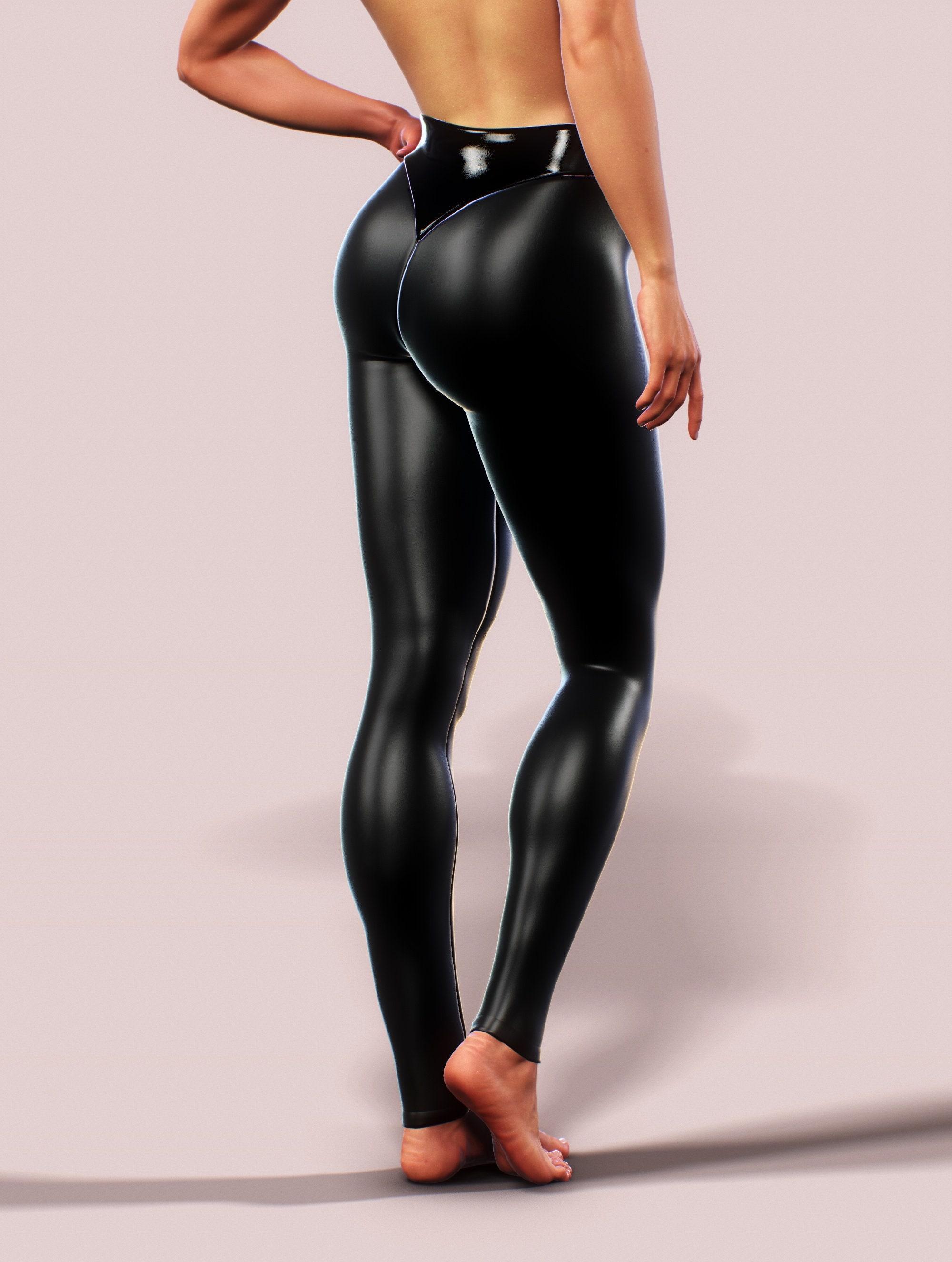 Latex tights