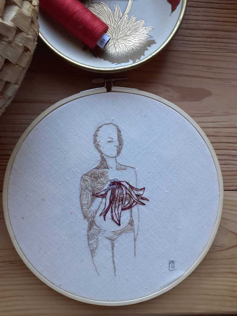 Hand-crafted embroidery. image 0