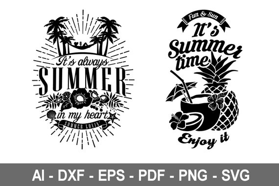 26+ Summer Bundle Cut Files Design