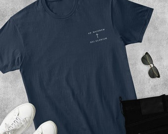 Jesuit. Ad Majorem Dei Gloriam shirt AMDG shirt Toddler shirt For Greater Glory of God Bleach dyed shirt Youth shirt Catholic shirt