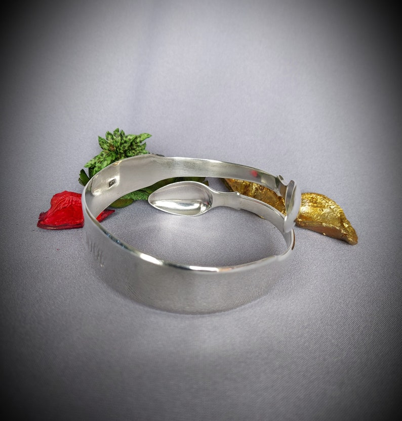 Sterling Silver Georgian Sugar Tong Bracelet  Bangle Assayed London 1808