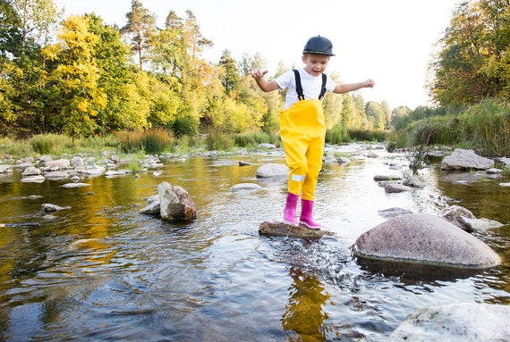 Rain Pants Yellow Submarine Unique Waterproof Trousers Water Resistant Over Trousers