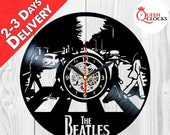Abbey Road The Beatles Clock Music Vinyl Record Home Wall Decorations Album Room Decor Birthday Christmas Gifts Ideas Memorabilia Men Women
