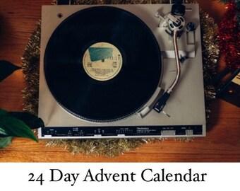 PRE ORDER - 24 day advent skein (100g + 20g mini + Christmas treats)