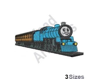 dccb8c3d24d Thomas The Tank Engine - Machine Embroidery Design