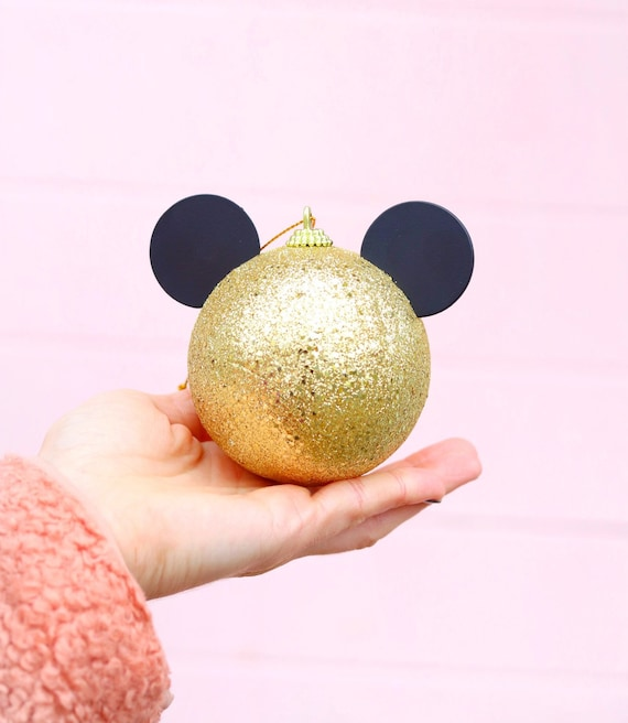 Mickey Christmas Ornament! by Etsy