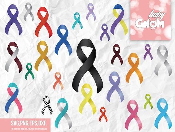 Mom with bandana Awareness ribbon svg Cancer awareness svg Breast cancer svg Ms awareness Messy bun svg Mental health svg Bandana svg