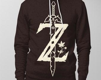 75dd2e4cdf1 Zelda Sword Hoodie Zelda Sweater sweatshirt