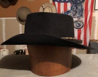 Vintage Beaver Brand Cowboy Hat 7-5 8 5ef3d840c889