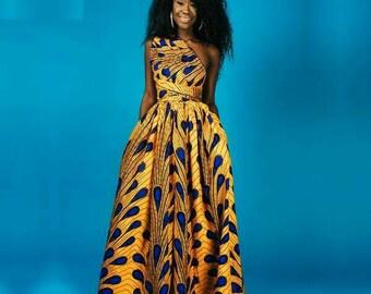 7a053104e74 African print dress